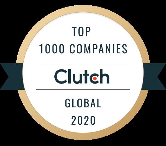 Top 1000 Companies Clutch Global 2020