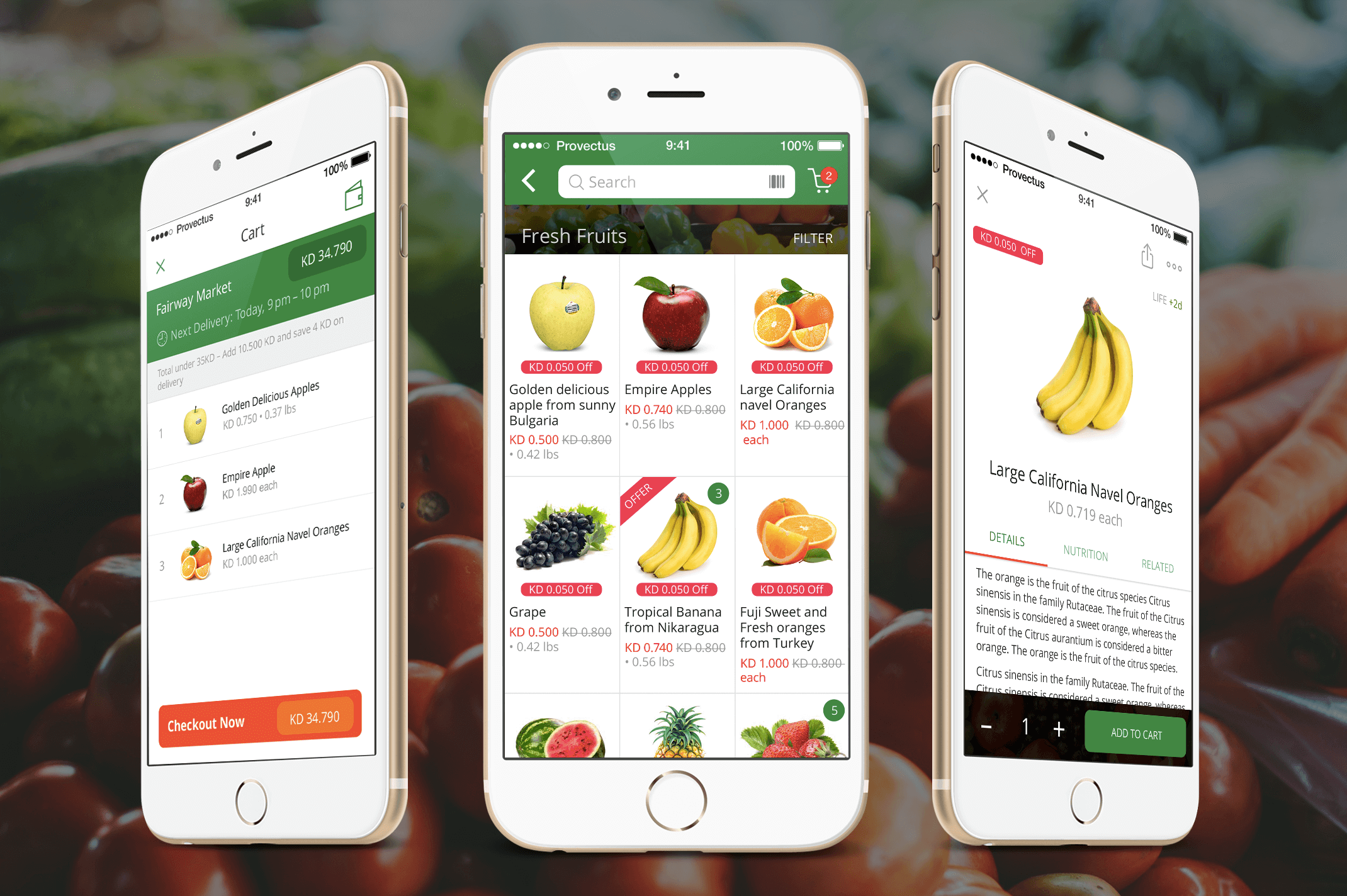 on-demand grocery app devices