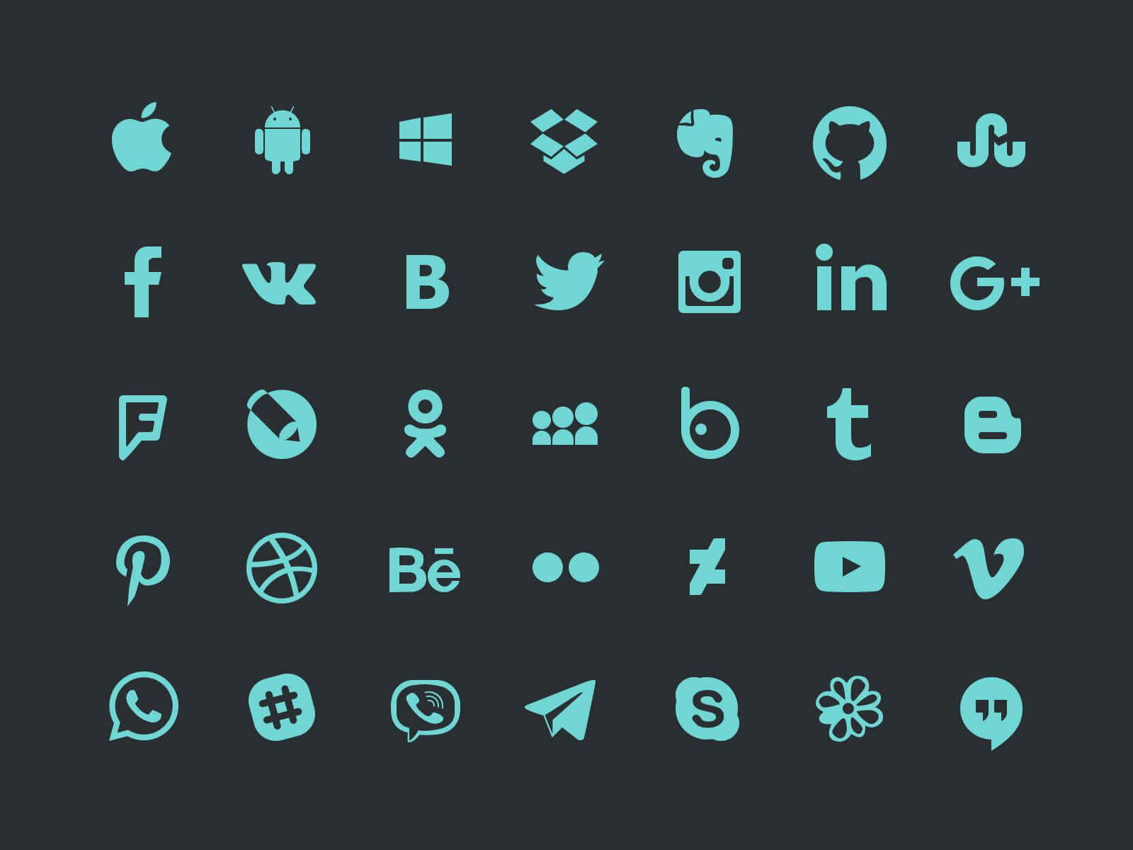 social_icons-freebie