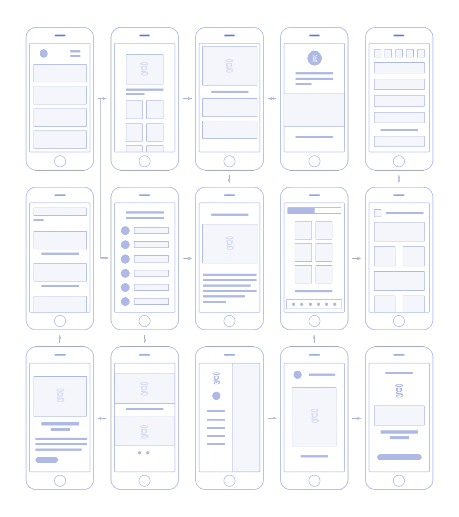 An example of a storyboard - also known as a wireframe, which we create for your app in the Mobile Product Evaluation Workshop. It can help identify what's behind your app crashing.